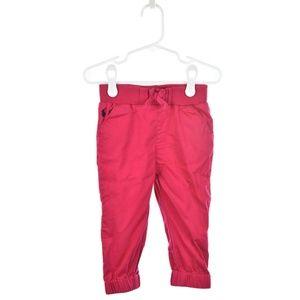 Ralph Lauren Hot Pink Cotton Pants